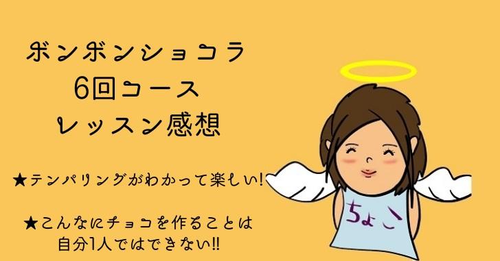 【ボンボンショコラ6回コースレッスンの声】ナツコさん、たくさん感想をもらって上達しました!